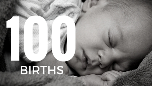 100 Births blog post